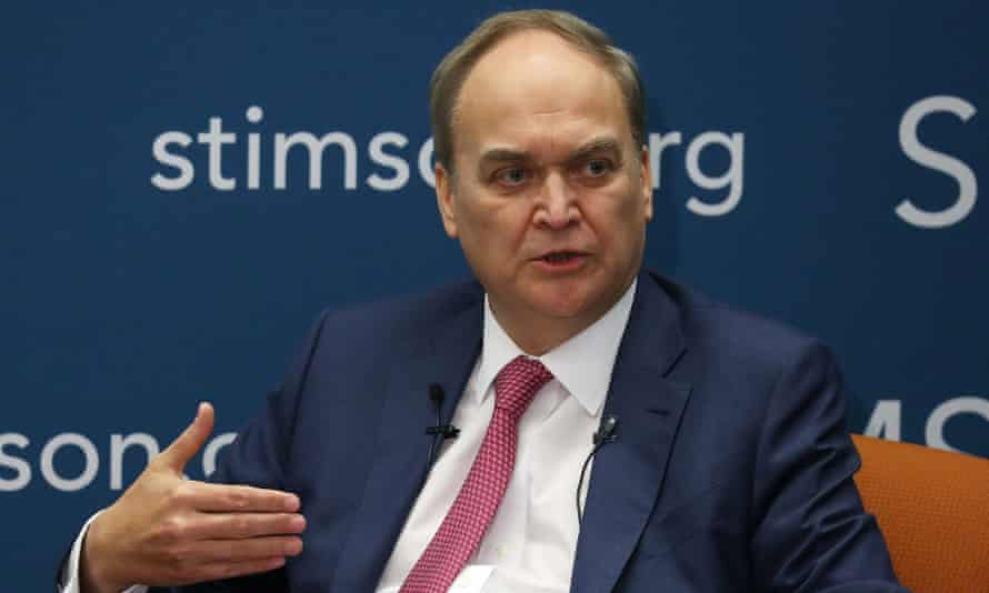 Anatoly Antonov speaks about US-Russian relations in Washington DC on 4 March.