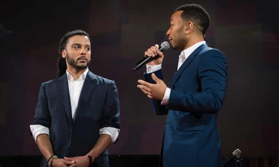Adam Foss and John Legend