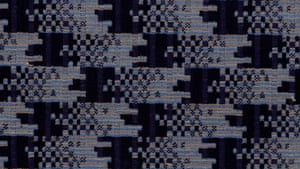 Moquette used on the top deck of London Passenger Transport Board B2, C1 and K class trolleybuses, circa 1935