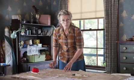 Frances McDormand in the 2014 HBO adaptation of Olive Kitteridge.