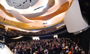 The new Paris Philharmonie, designed by Jean Nouvel: 'architecturally interesting in a Vegas sort of way'.