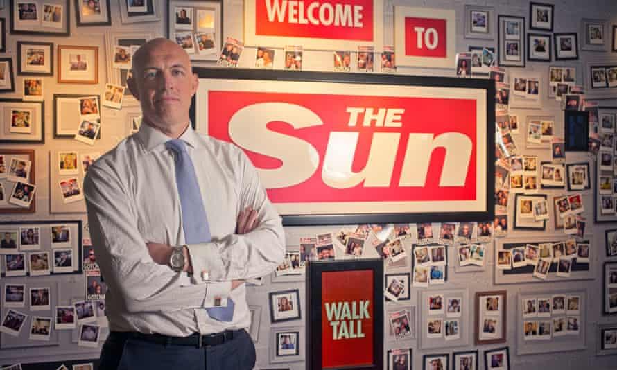 David Dinsmore, former editor of the Sun