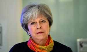 Theresa May headshot