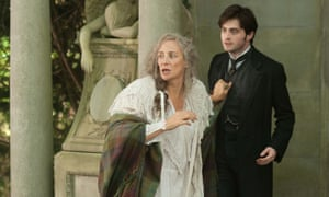 Janet McTeer and Daniel Radcliffe in Goldman's 2012 movie The Woman In Black.