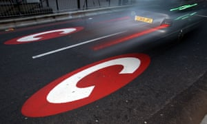 the congestion charge sign