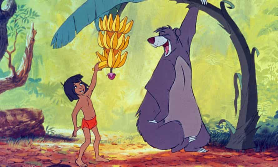 The 1967 version of The Jungle Book.