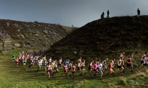 Unsung heroes … fell running in West Yorkshire.