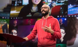 Jack Conte ... Patreon grew out of the musician's last-ditch attempts to make money out of his YouTube success. Photograph: Bret Hartman/TED
