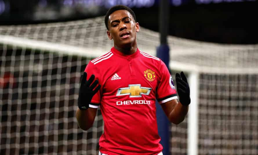 Anthony Martial, who joined Manchester United from Monaco for an initial £36m in 2015, has made just 17 Premier League starts this season