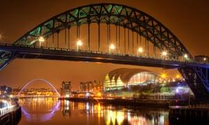 """Bridge at night"""