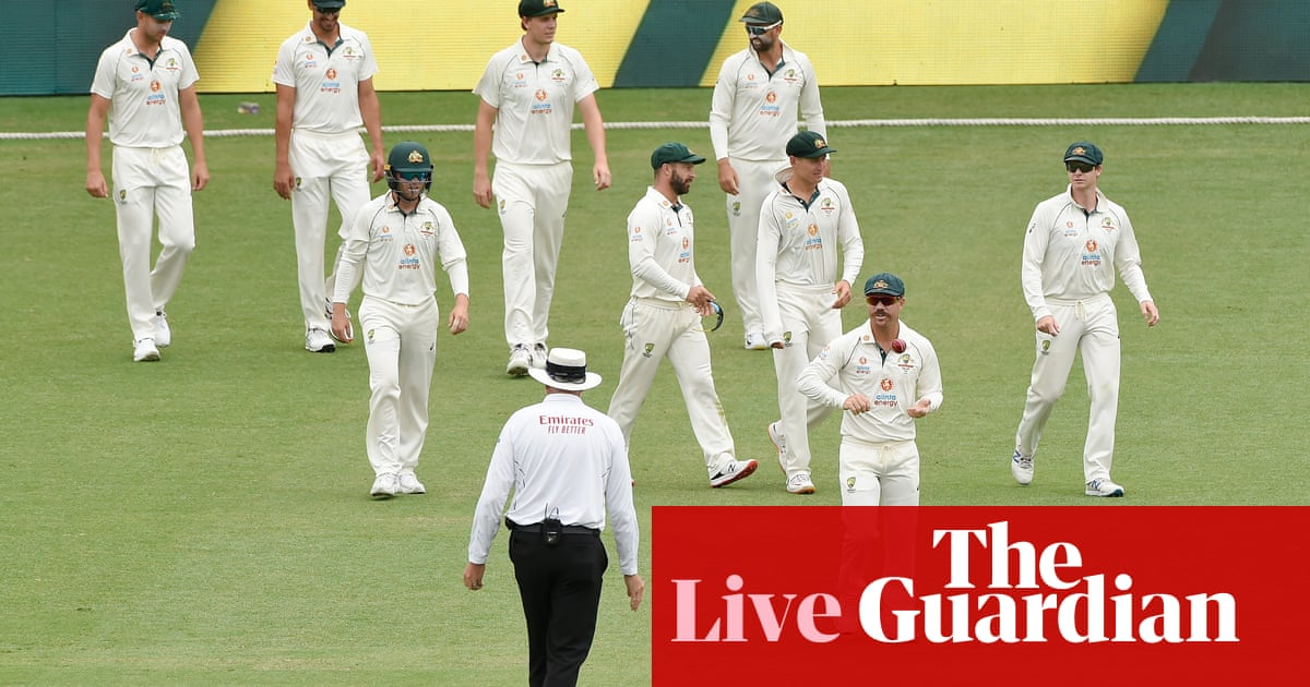 Australia v India: fourth Test, day five – live! - the guardian