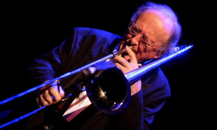 Chris Barber performing in Cologne in 2012