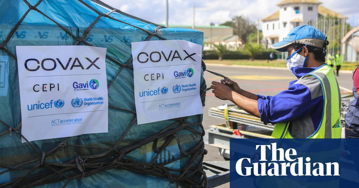 UK to give 100m Covid vaccine doses to poorer countries within a year