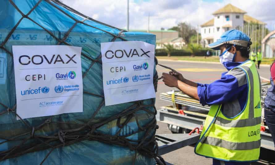 Covax shipment