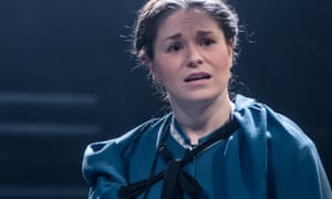 Jessica Baglow as Jane in Jane Eyre at the Octagon.