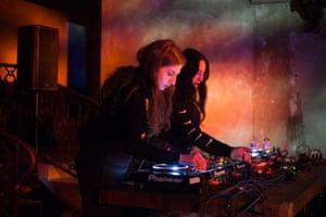 FOOZOOL and 8ULENTINA, the DJs behind Club Chai.