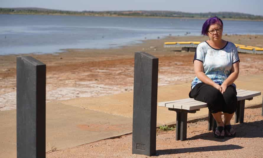 Tania Magoci, who is battling motor neurone disease, in the NSW town of Griffith.