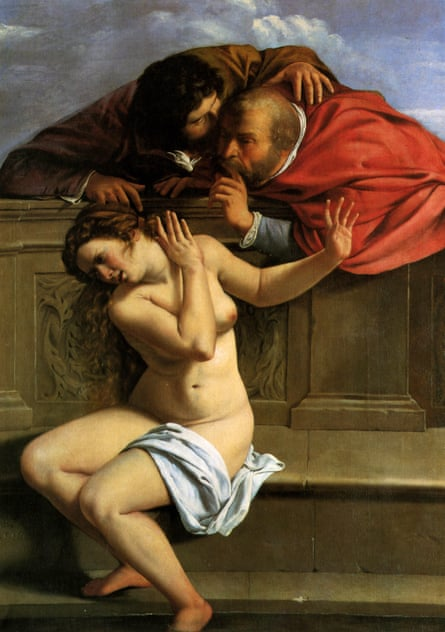 Susanna and the Elders by Artemisia Gentileschi (c1610).