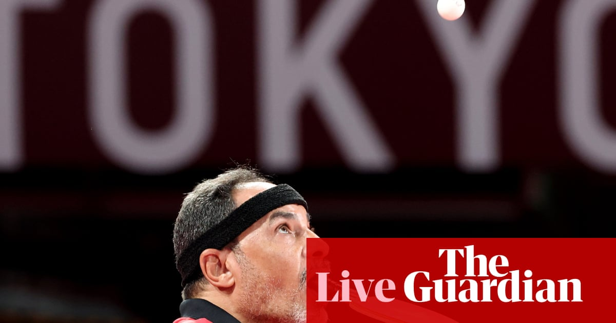 Tokyo Paralympics 2020 day three: athletics begins, swimming, cycling and more – live!