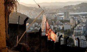 The view of the Maracanã from Turano favela