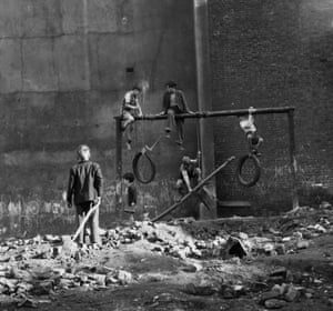 """Boys on Bombsites, 1954. """"They did what they liked, and then went home for their tea."""""""