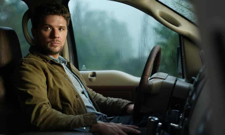 Behind the wheel ... Ryan Philippe as private detective Cody Hoyt in Big Sky.