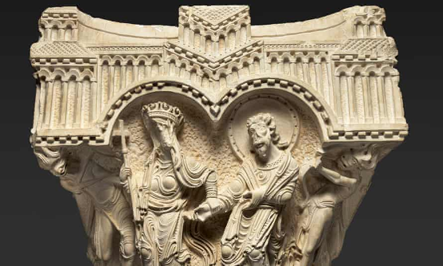 carving from Jerusalem 1000–1400: Every People Under Heaven.