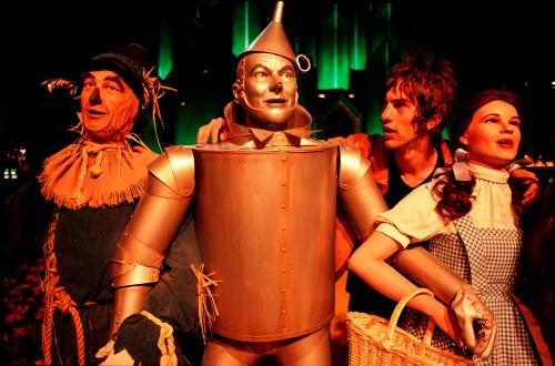 'It was the first time I'd really been around northerners' … Richard Ashcroft, Tin Man, Scarecrow and Dorothy, Las Vegas, 1994, by Chris Floyd.