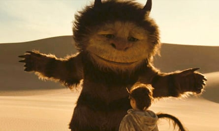 The 2009 film adaptation of Where The Wild Things Are