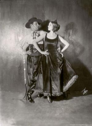 Rudolph Valentino and Natasha Rambova New York 1922