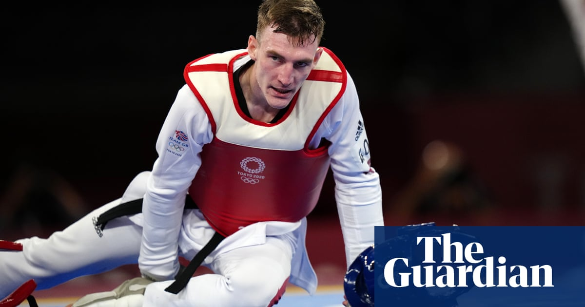 Britain's Bradly Sinden edged out for gold in Olympics taekwondo final
