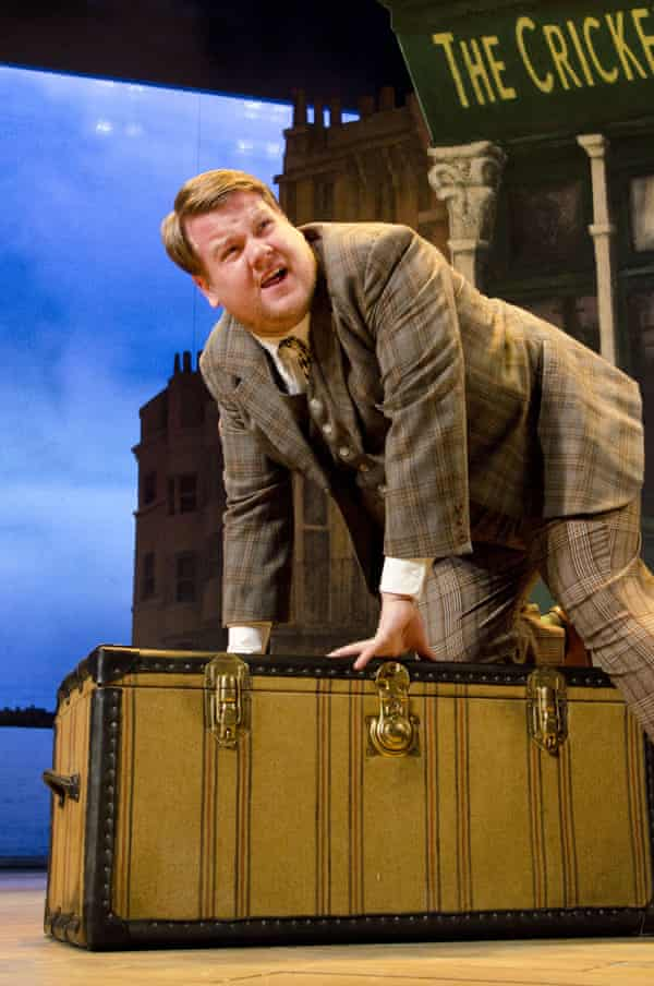 Skiffle makeover … James Corden in One Man, Two Guvnors at the Lyttelton theatre, London, in 2011.