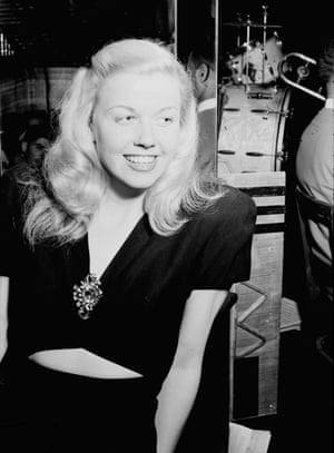 Doris Day At the Aquarium Jazz Club, New York, 1st July 1946.