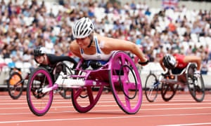 Sammi Kinghorn wins the T53 100m gold: 'I feel like I'm never going to sleep again. This week has been incredible'.