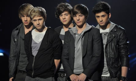 One Direction in 2010.