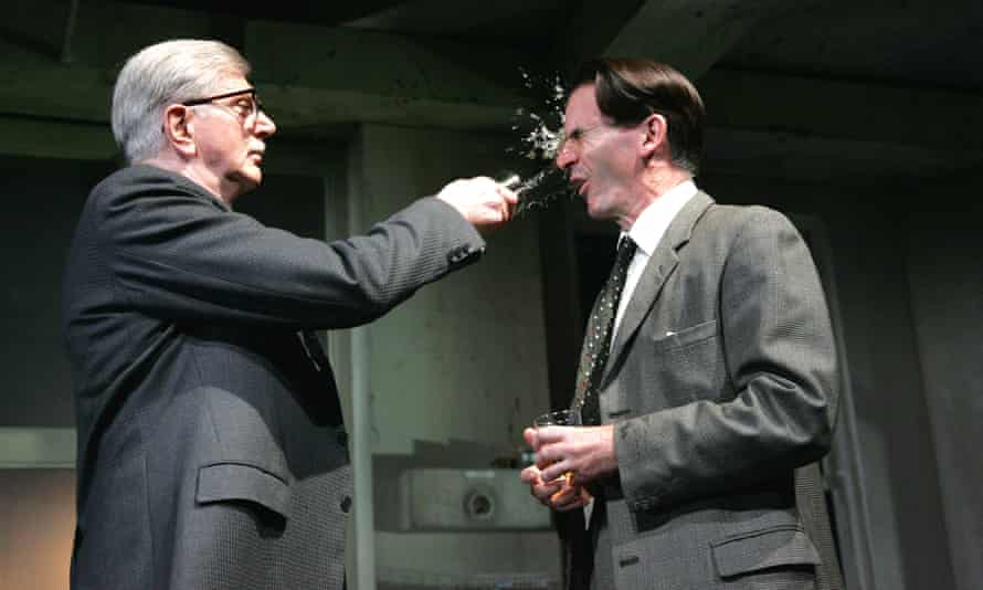 Stephen Moore, left, and Paul Ritter in The Hothouse by Harold Pinter at the Lyttelton theatre, London, in 2007.