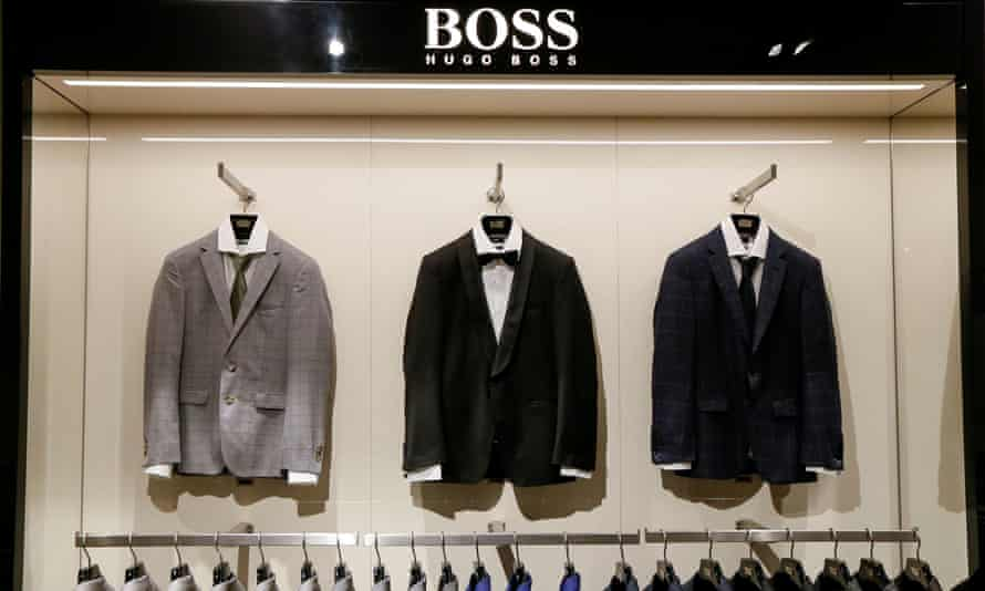 'Very different from craft beer': Hugo Boss suits.
