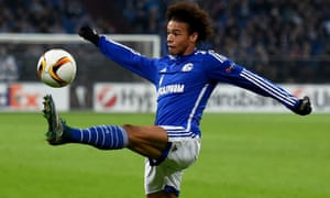 Leroy Sané made his Schalke debut last year and has scored against Real Madrid in March.