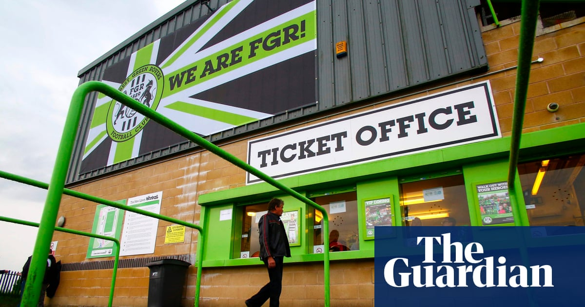 7e1a95168cb96 Forest Green Rovers named world s first UN certified carbon-neutral  football club