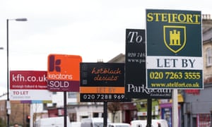 London homes to let.