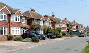 Semi detached houses in Surrey
