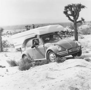 A Beetle fitted with a Kangaroo camper in 1972.