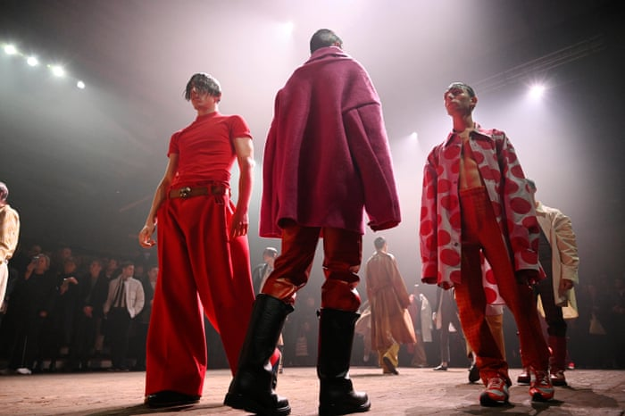 Milan Men S Fashion Week 10 Key Collections In Pictures Fashion The Guardian