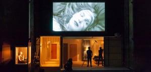 A filmic study of voyeuristic desire ... La Maladie de la Mort at Edinburgh International Festival.