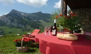 The Writers' Retreat, near Grand Bornand, Haute-Savoie