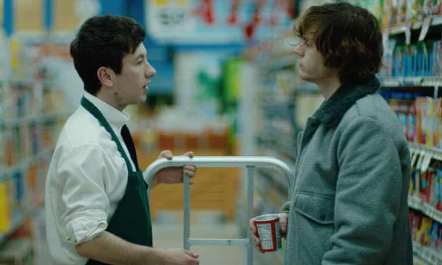 'I think he probably thought I should have got a prettier lad' ... Keoghan in American Animals.