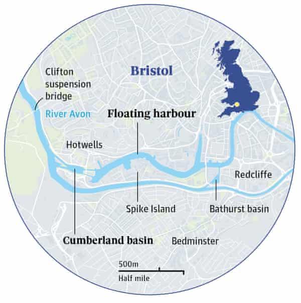 bristol harbour map