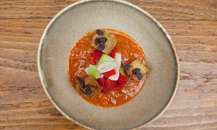 Gazpacho, Casa do Frango Restaurant, London