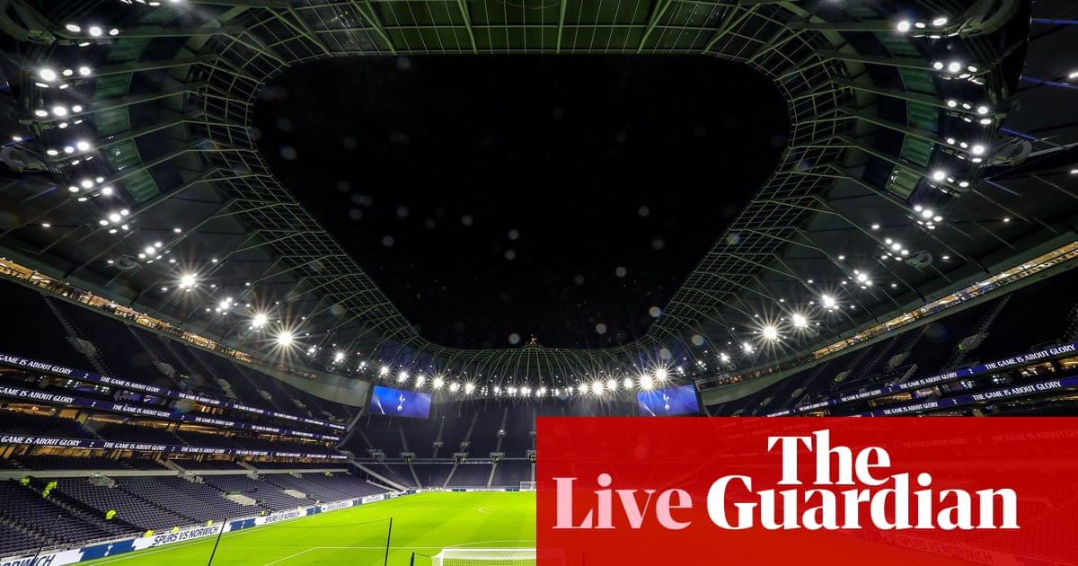 Tottenham Hotspur v Middlesbrough: FA Cup third-round replay – live!