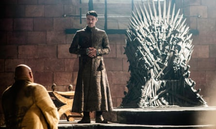 'All there is' ... Littlefinger delivers his theory of chaos.
